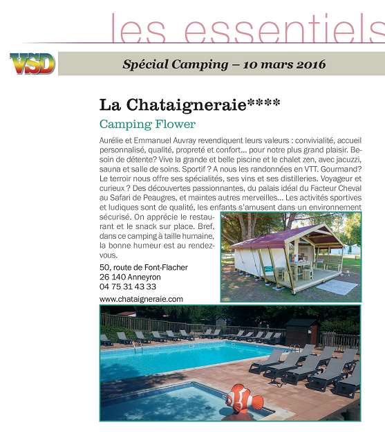 camping proche valence