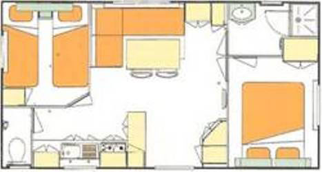 plan mobile home eco 4 pers